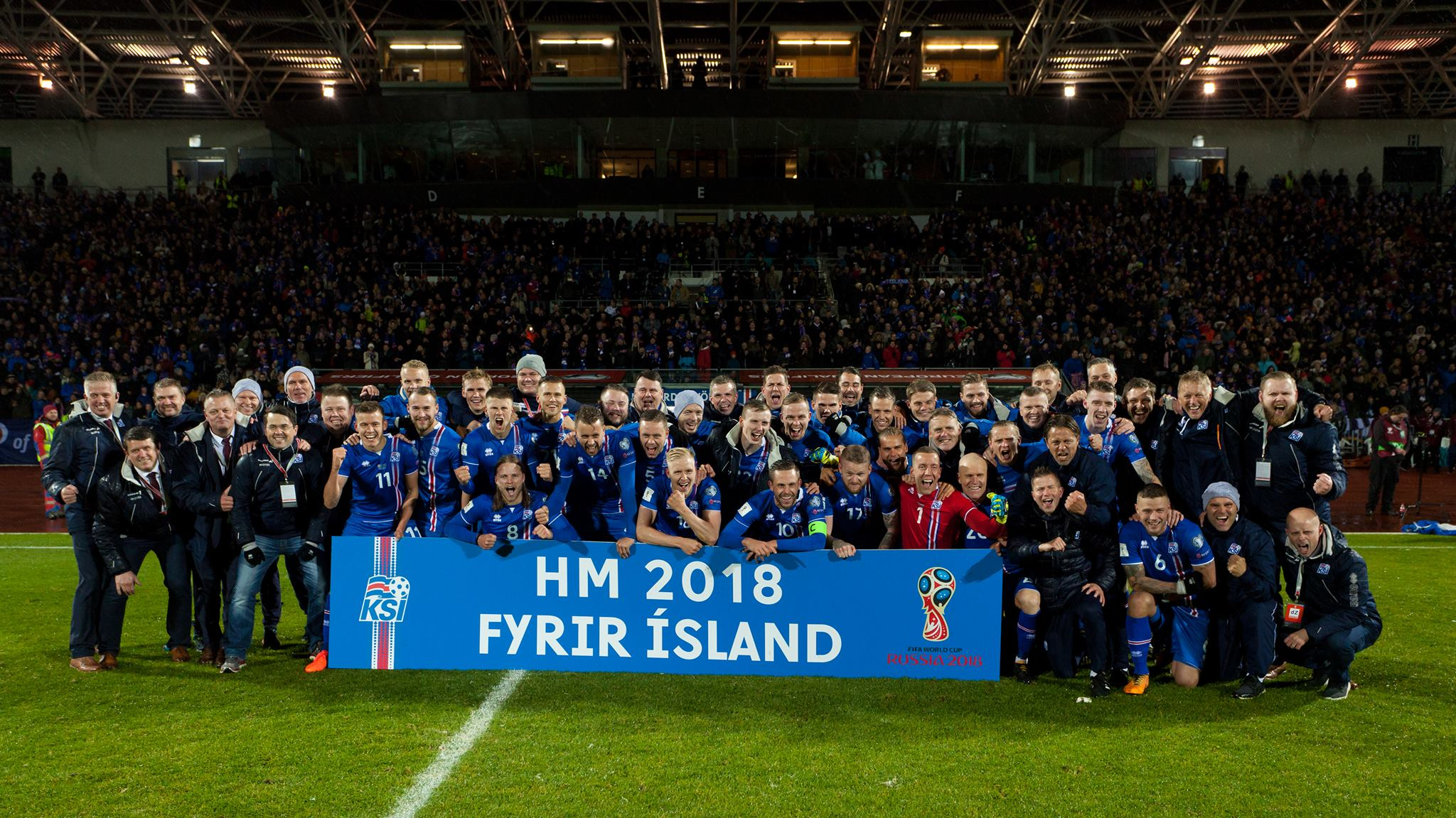 Inspiration – Iceland qualifies for the World Cup.